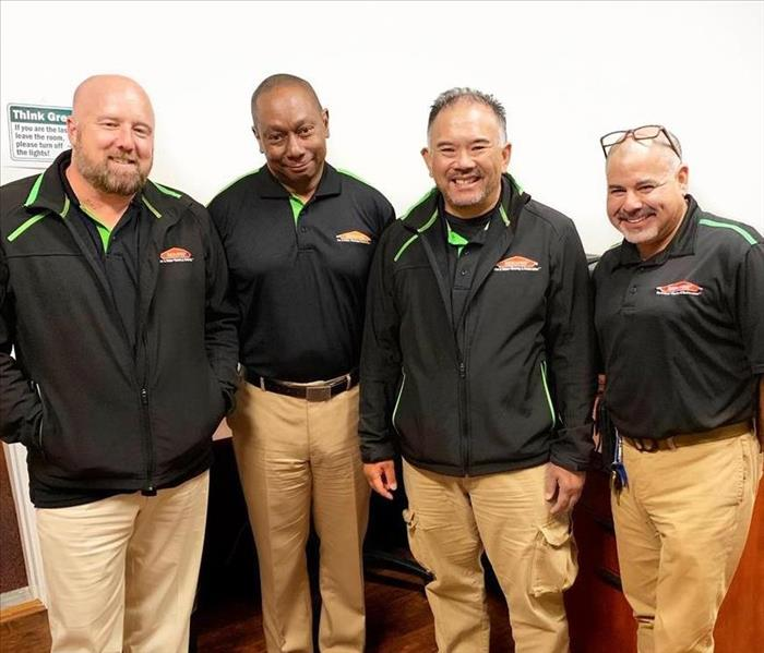 Our Group of Hardworking and Dedicated SERVPRO Team