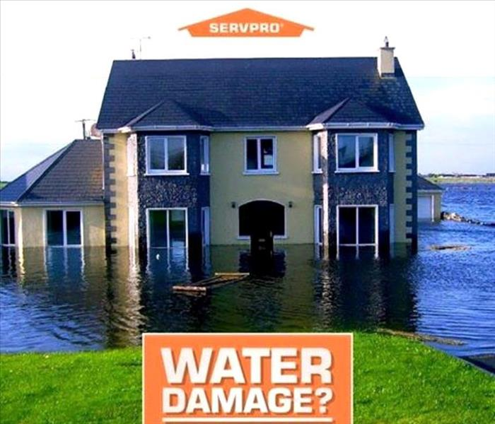 Flooded Basement In Commercial Property: SERVPRO Of South San Rafael / Sausalito